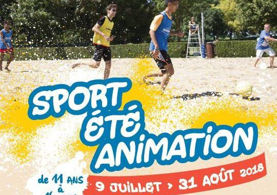 Sport Été Animation 2018