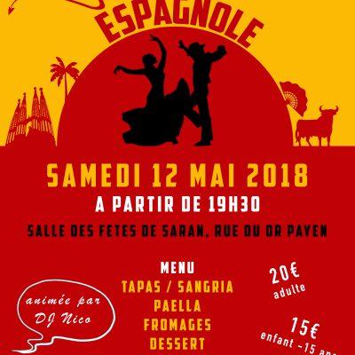 Soirée du club - 12/05/2018 - ESPANA