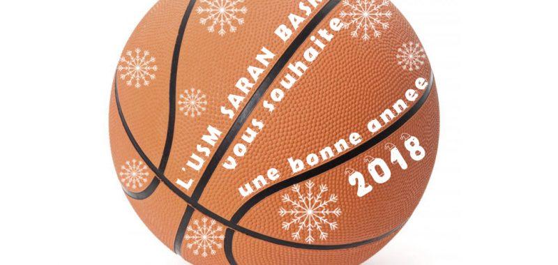 L'USM Saran Basket vous souhaite ses meilleurs voeux pour cette nouvelle année