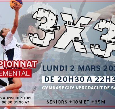 2ème journée championnat départemental 3x3