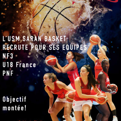 [USM Saran basket] - Recrutement féminin 2019/2020