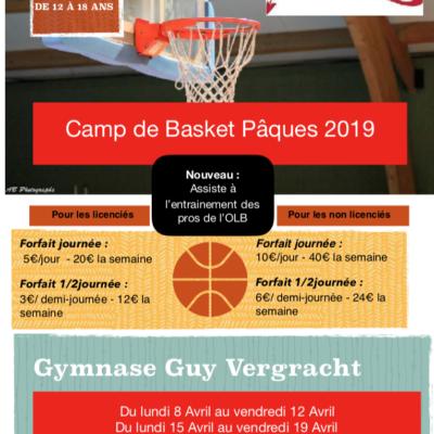 Camps de Basket Avril