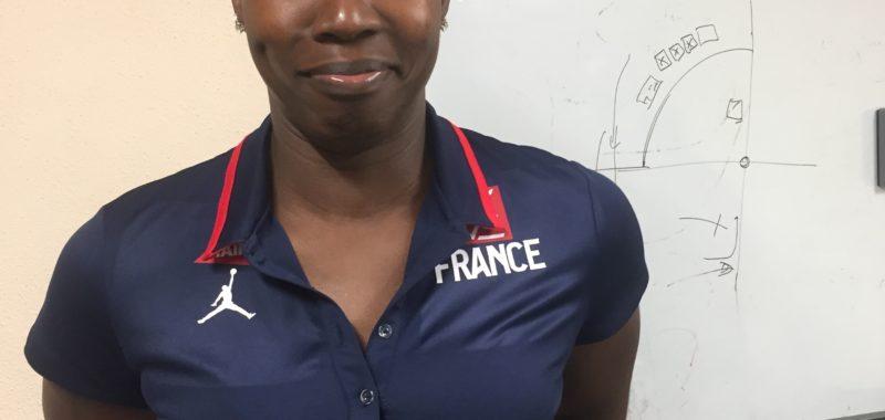 Nos joueuses et l' équipe de France 3X3