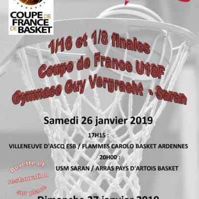 Planning du week-end + Coupe de France