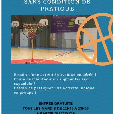 [USM Saran basket- club 3.0] - Label Découverte basket santé